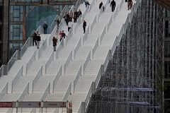 Stairway to Rotterdam (PeteFriday) Tags: stairs giant rotterdam 010 centralstation stationsplein rotjeknor groothandelsgebouw roffa