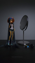 Rapunzel:) (dancingmorgana) Tags: monster de dead high doll nile tired cleo monsterhighdoll toralei