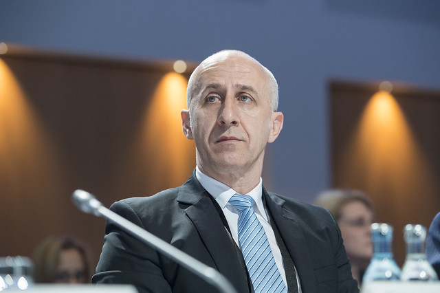 Dan Marian Costescu at the Closed Ministerial Session