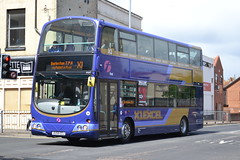 First Eastern Counties 37578 AU58EDJ (Will Swain) Tags: great yarmouth 14th may 2016 south east norfolk town bus buses transport travel uk britain vehicle vehicles county country england english centre x1 excel first eastern counties 37578 au58edj