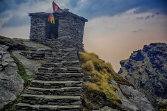 DSC_1255 (Fulcrum35) Tags: temple altitude shiva himalayas kedar uttarakhand chopta chandrashila tunganath