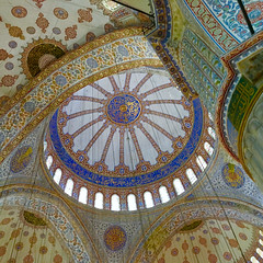 The Blue Mosque, Istanbul (MarkWarnes) Tags: turkey muslim islam istanbul mosque bluemosque