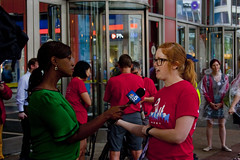 Television Interview Chicago Teachers Union Rally 6-22-16 2305 (www.cemillerphotography.com) Tags: brown money black march education cityhall budget union rally politicians africanamerican southside tax springfield taxes westside teaching sales rightwing racism economics cuts revenue billionaires corporations privatization minorities layoffs charterschools stalemate lasallestreet austerity karenlewis neoliberal headtax fairshare rahmemanuel forrestclaypool classroomsize tiffunds ideologicalagenda governorbrucerauner bondrating demjonstration brokeonpurpose schopolclosings specialeducationcuts