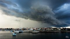Orage sur le port de Carro (MarKus Fotos) Tags: carro orage storm cloud nuage 13 canon pluie rain marseille