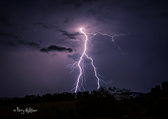 Strident Strikes - Thunderstorm Lightning Roanoke County (Terry Aldhizer) Tags: county blue storm mountains nature virginia ridge roanoke terry strike bolts thunderstorm lightning strikes thunder strident aldhizer wwwterryaldhizercom