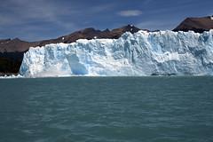 Glacier breaking (sophs123.) Tags: travel summer patagonia nature argentina america canon landscape south glacier latinoamerica perito moreno canon400d