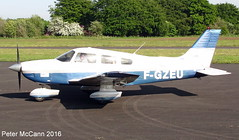 F-GZEU PA28 Fife June 2016 (pmccann54) Tags: glenrothes piperpa28 fiferegionalairport ggzeu