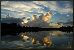 Picture (WanaM3) Tags: park morning sunlight seascape reflection nature water sunrise landscape texas sony bayou vista pasadena canoeing paddling bayareapark clearlakecity a700 armandbayou sonya700 wanam3