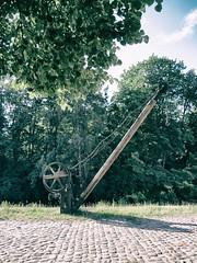Alter Kran (FloHimself) Tags: canon germany geotagged deutschland powershot kran ilmenau lneburg historisch g10 canonpowershotg10