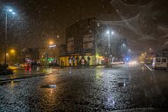 Bdzin (nightmareck) Tags: bdzin zagbiedbrowskie polska poland europa europe rain deszcz fotografianocna night handheld fujifilm fuji xe1 apsc xtrans xmount mirrorless bezlusterkowiec xf18mm xf18mmf20r fujinon pancakelens snow nieg