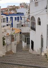 Albufeira (Hans van der Boom) Tags: europe portugal algarve vacation holiday albufeira town steps buildings pt