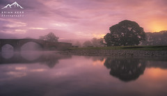 The Perfect Morning (.Brian Kerr Photography.) Tags: briankerrphotography cumbria landscape lazonby lazonbybridge misty mistymorning morning reflections sony sunrise