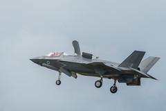 F-35 Lightning 2 hovering (tik_tok) Tags: f35 lightning aircraft figher jet fast military plane lockheedmartin lightning2 shorttakeoffandverticallanding stovl raf royalairforce demonstration stealth weapon technology
