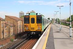 455828 (matty10120) Tags: train transport rail railway clas class 455 southern queens road peckham