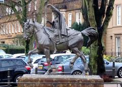 Banbury, Fine Lady Statue (Stuart Axe) Tags: england uk unitedkingdom gb greatbritain banbury oxfordshire statue finelady fineladystatue nurseryrhyme horse