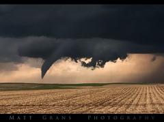 Descending (Matt Grans Photography) Tags: tornado weather clouds storm supercell colorado twister funnelcloud