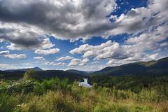 Aberfoyle (Del Robertson) Tags: aberfoyle scotland looking over towards ben lomond 180716