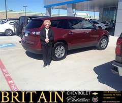 #HappyBirthday to Carolyn from Janna Reel Mike Donaho at Britain Chevrolet Cadillac! (britainchevrolet) Tags: britain chevrolet chevy cadillac greenville texas tx dallas dfw metroplex plano allen frisco mckinney new used preowned dealer dealership car vehicles sedan van minivan suv truck pickup coupe happy customers bday shoutouts