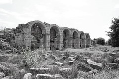 ancient structure (mdoughty68) Tags: ancient historical roman perge turkiye turkey ruins