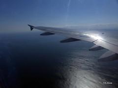 Flying Over the Atlantic (featfannyc) Tags: jetblue jfkairport nyc newyorkcity august2015 atlanticocean queensny