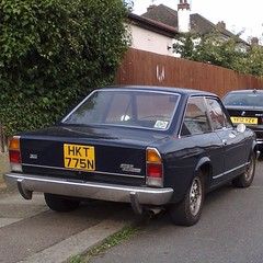 (uk_senator) Tags: 1975 fiat 124 sport coupe cc blue