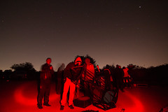 Observing comet Lovejoy from Monte Bello