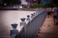 Fence (Duc _ Pham) Tags: fence river canal vietnam 5d sai gon ngh hng si gn th knh cz135 ro