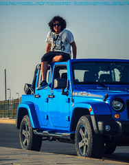 Dr. Rasel (dr.7sn Photography) Tags: street blue roof black streets face hair lens nikon long doors jeep zoom afro 4 guys professional hydro short angry pr polar jeddah mad removal edition unlimited cornish wrangler      55200mm                d7100                  kadash
