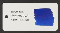 Diamine Flower Set Cornflower - Word Card