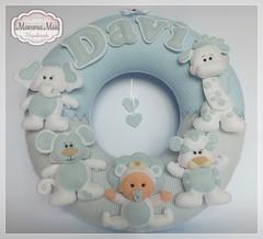 Fofuras para o Davi (Mamma Mia Handmade) Tags: felt safari guirlanda infantil feltro enfeite
