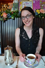 Emma at Queen Mary Tearoom (teatimewithemma) Tags: party woman house english me cup girl silver high afternoon with silverware time tea room mary emma queen pot teapot teacup tearoom teatime teahouse teaparty teatimewithemma