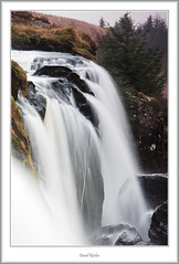 Falling Over the Loup (flatfoot471) Tags: winter rural landscape dawn scotland waterfall fintry stirlingshire campsies loupoffintry
