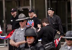 IMG_7067 (Wespennest) Tags: ohio demo spring cops nazi nazis protest police demonstration toledo armor april riotpolice riotcops neonazis nsm bodyarmor jeffschoep nationalsocialistmovement kenkrause
