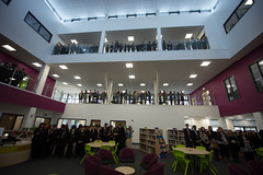 Official Opening of St Paul's Catholic School in Leicester (Catholic Church (England and Wales)) Tags: school st catholic leicester pauls
