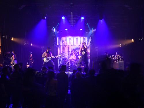Concert Aqme, Black Bomb A & Dagoba