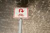 u turn (lumofisk) Tags: beton brücke fahrrad pfosten ris schild transportmittel below bike bridge concrete crack pole sign uturn umdrehen unter verwittert weathered nikondf 0mmf0 50mm