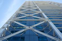DSC_6788 (AperturePaul) Tags: barcelona building geometric architecture modern skyscraper 50mm spain nikon europe d600 hotelarts