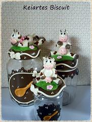DSCN0072 (biscuit keiartes) Tags: biscuit potes vaquinhas decorar keiartes