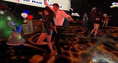 Club Drow (Osiris LeShelle) Tags: life party music club dance day dancing grove secondlife second rez drow avilion