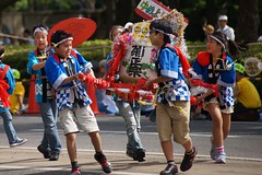 Kobe Festival 2015 (Takashi K. A) Tags: road city flower green festival japan season spring may spot tourist parade international kobe popular kansai sannomiya 2015
