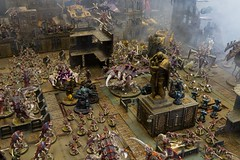 Tyranids invade the 30K world of GW Leamington Spa (jontlaw) Tags: city store board games 40k workshop pre leamington spa 30k heresy