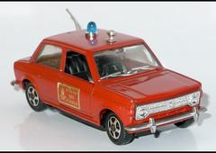 FIAT 128 Pompiers (1998) MEBETOYS L1100576 (baffalie) Tags: auto old classic car vintage toys fire miniature voiture coche jouet diecast jeux