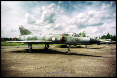 Flugplatz Gatow - Air Force Dassault Mirage IIIE (Krueger_Martin) Tags: blue sky berlin museum clouds plane airplane airport colorful military himmel wolken wideangle olympus 24mm blau flughafen airforce flugzeug zuiko farbig flugplatz hdr bunt airfield militr luftwaffe weitwinkel photomatix gatow festbrennweite militrmuseum primelense olympuszuiko24mmf28 dassaultmirageiii 13ql