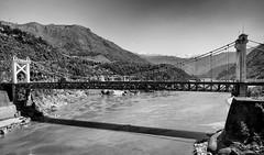 Thakot Bridge, Shangla, Karakoram Highway (umairadeeb) Tags: bridge pakistan mountain water river landscape karakoram kkh karakoramhighway besham thakot