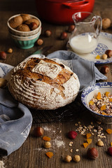 IMG_9458_exp (Helena / Rico sin Azcar) Tags: bread pan muesli sordough masamadre