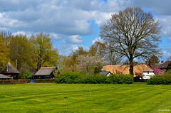 Wezep Landscape (JaapCom) Tags: trees clouds farmhouse landscape natural paysbas landed landschap niederlande naturel hollanda wezep dutchnetherlands jaapcom