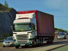 Photo of EY13 BAS - Scania R440 - Baynes & Sons Haulage Ltd., Bangor, North Wales.