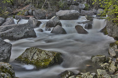 Merced River, Yosemite National Park (Mastery of Maps) Tags: california park ca longexposure green nature river outdoors nationalpark spring rocks natural rapids yosemite yosemitenationalpark naturalbeauty sierranevada longshutter yosemitevalley mercedriver rushing rushingwater usnationalpark 2016 misttrail flowingwater