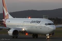 VH-VXL (Col Turner) Tags: airplane airport aircraft aviation aeroplane canberra boeing qantas 737 b737 737800 b737800 738 b738 avgeek yscb