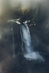 Snoqualmie falls (markmartucciphoto) Tags: david lynch fog mystery waterfall washington state dale great twin falls cooper mysterious wa peaks northern snoqualmie markmartucciphotography